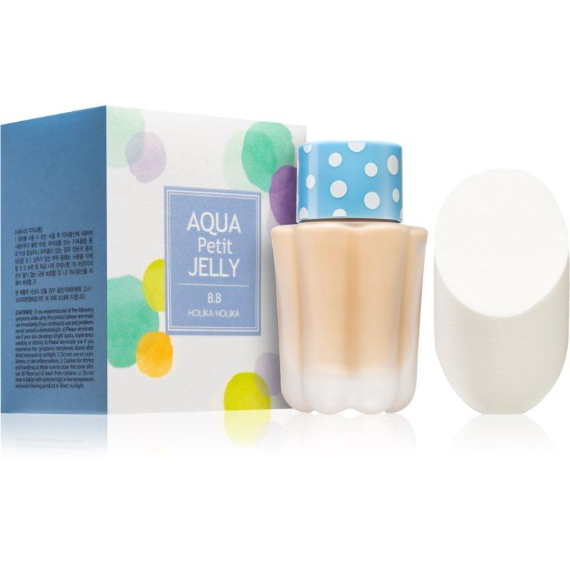 Holika Holika Petit BB Aqua Jelly hydratační BB krém proti nedokonalostem pleti SPF 20 odstín 01 Aqua Beige 40 ml