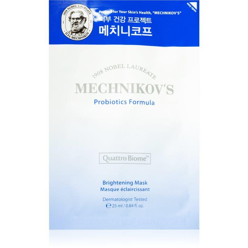 Holika Holika Mechnikov's Probiotics Formula masque tissu éclat 25 ml