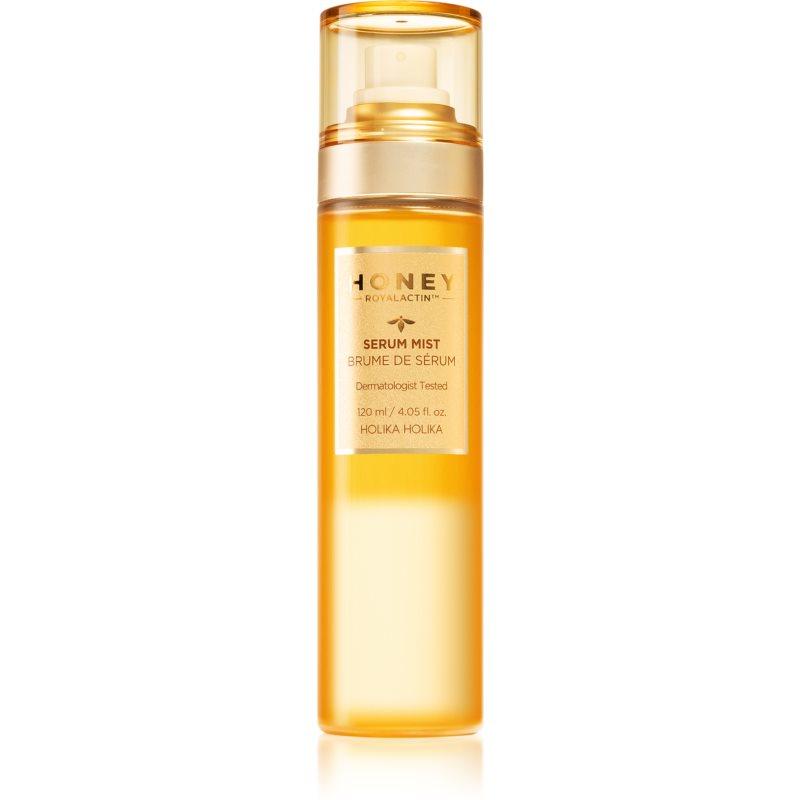 Holika Holika Honey Royalactin rozjasňující hydratační sérum ve spreji 120 ml