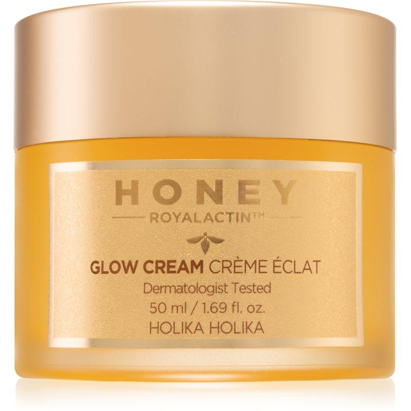 Holika Holika Honey Royalactin lehký hydratační gelový krém pro rozjasnění pleti 50 g