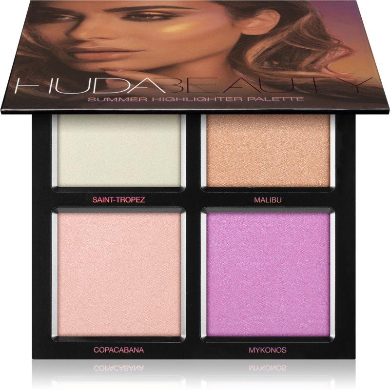 Huda Beauty 3D Summer Highlighter paletka rozjasňovačů 30 g