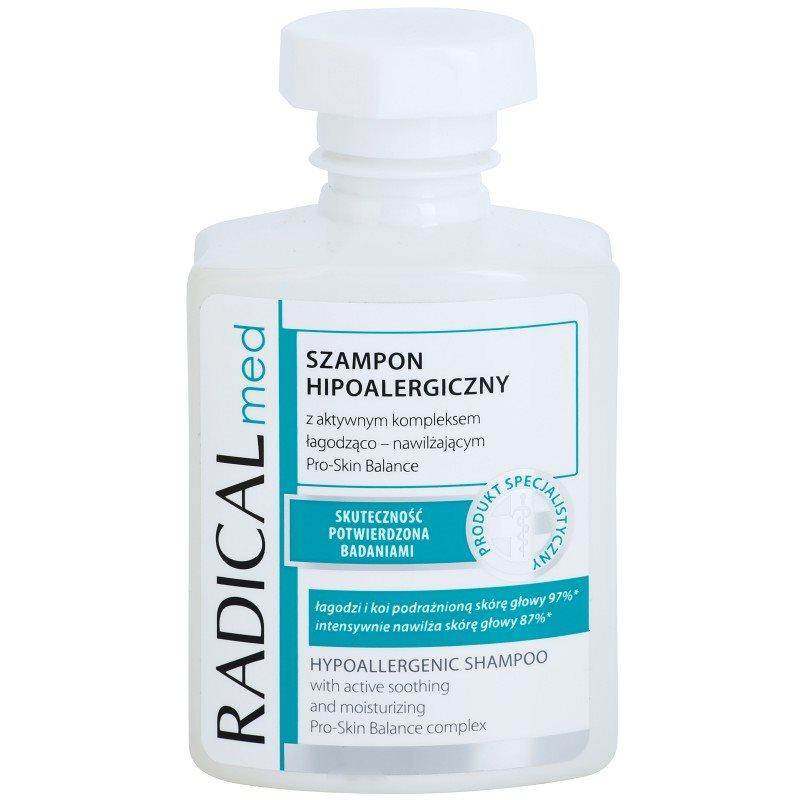 Ideepharm Radical Med Psoriasis shampoing hypoallergénique pour cuir chevelu souffrant de psoriasis 300 ml