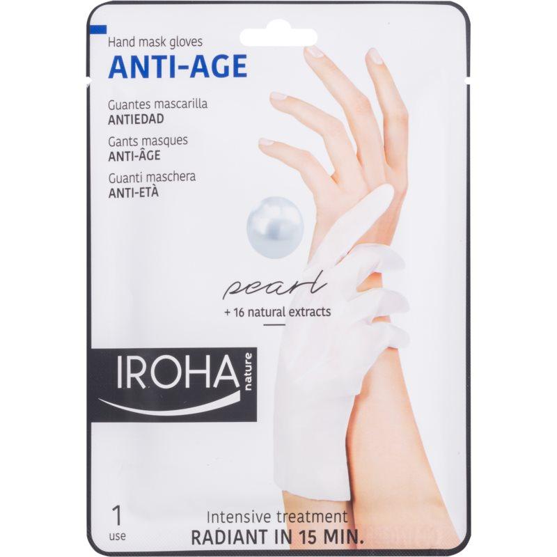 Iroha Anti - Age Pearl masque rajeunissant mains