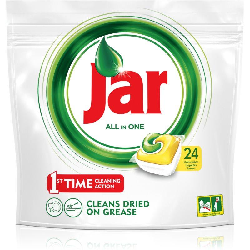 Jar All in One cápsulas para lavavajillas 24 ud