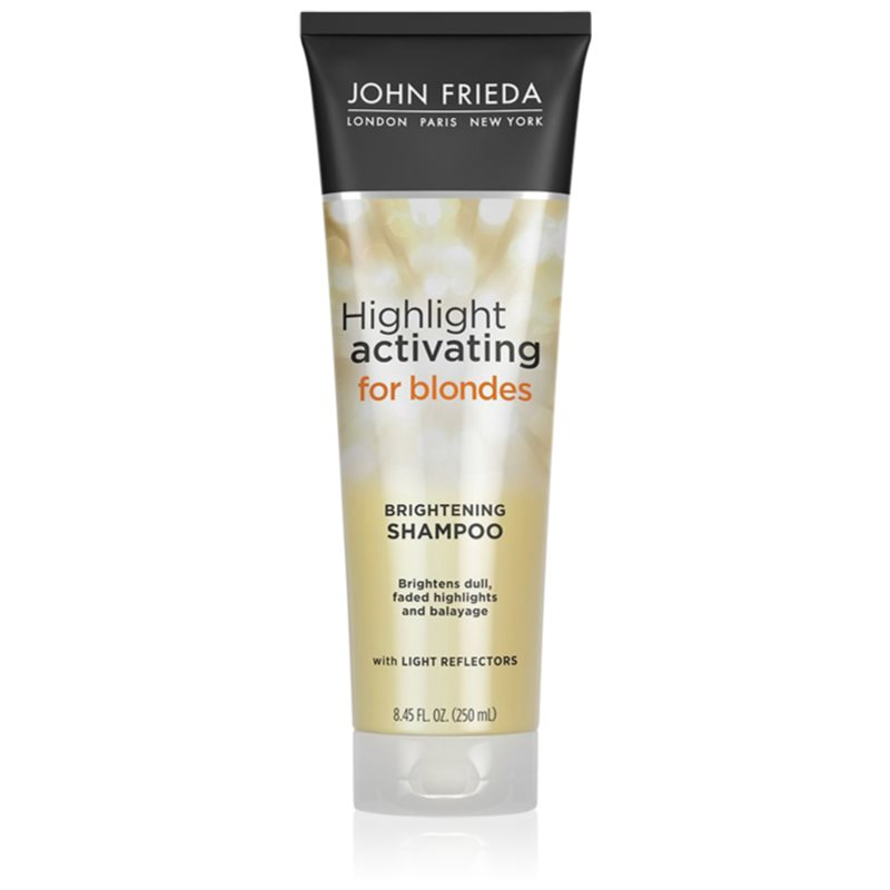 John Frieda Sheer Blonde Highlight Activating shampoing hydratant pour cheveux blonds 250 ml