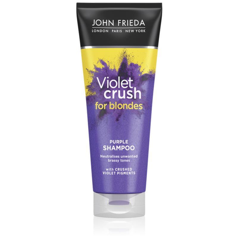 John Frieda Sheer Blonde Violet Crush shampoing colorant pour cheveux blonds 250 ml
