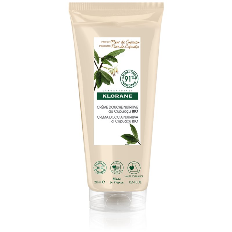 Klorane Cupuaçu Bio Fleur de Cupuacu gel doccia nutriente 200 ml