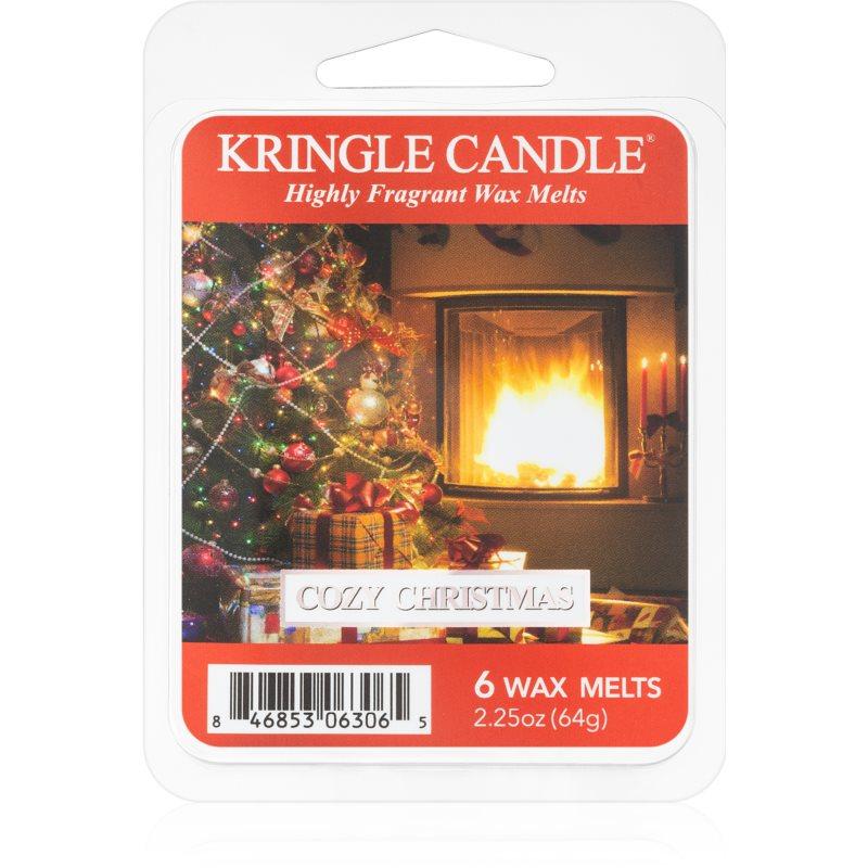 Kringle Candle Cozy Christmas tartelette en cire 64 g