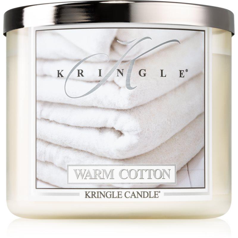 Kringle Candle Warm Cotton candela profumata I. 411 g