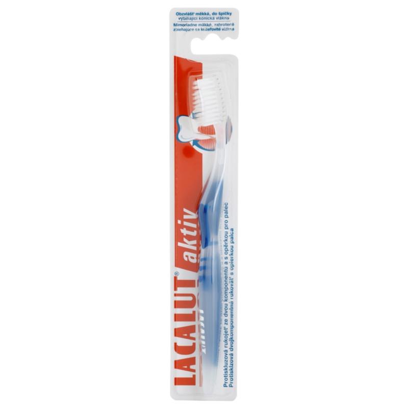 Lacalut Aktiv zubní kartáček soft barevné varianty