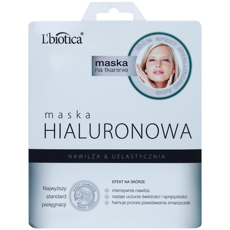 L'biotica Masks Hyaluronic Acid maschera in tessuto idratante e lisciante 23 ml