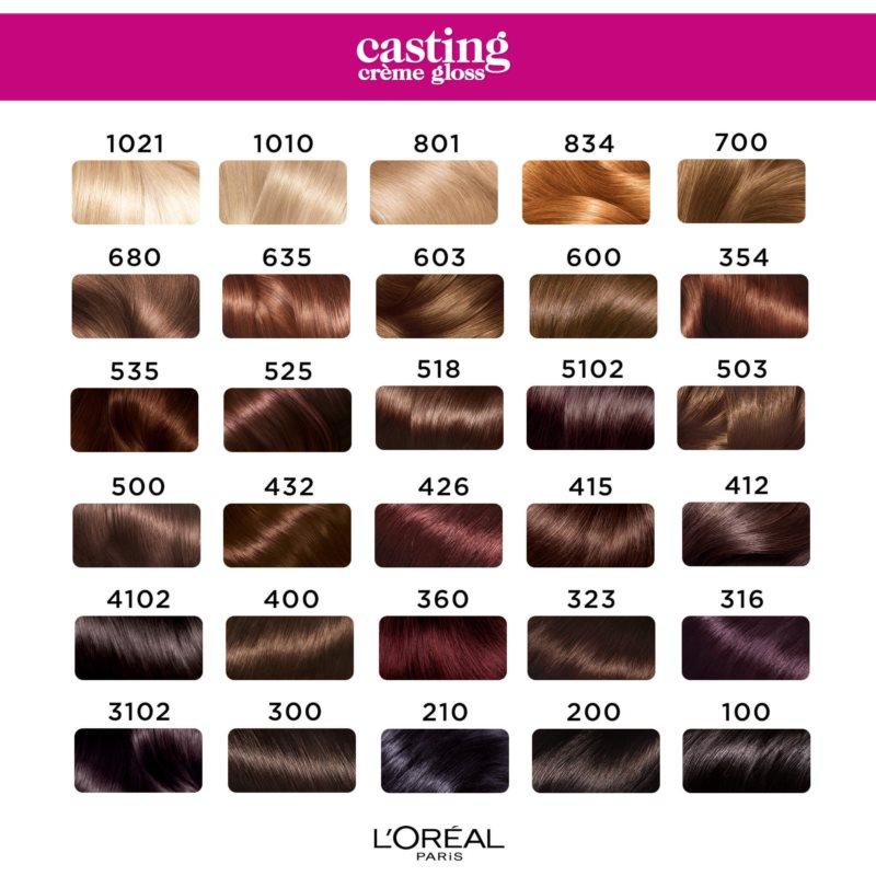 L'Oréal Paris Casting Crème Gloss fokozatosan kimosható helyszínező krém árnyalat 1021 Coconut Kiss
