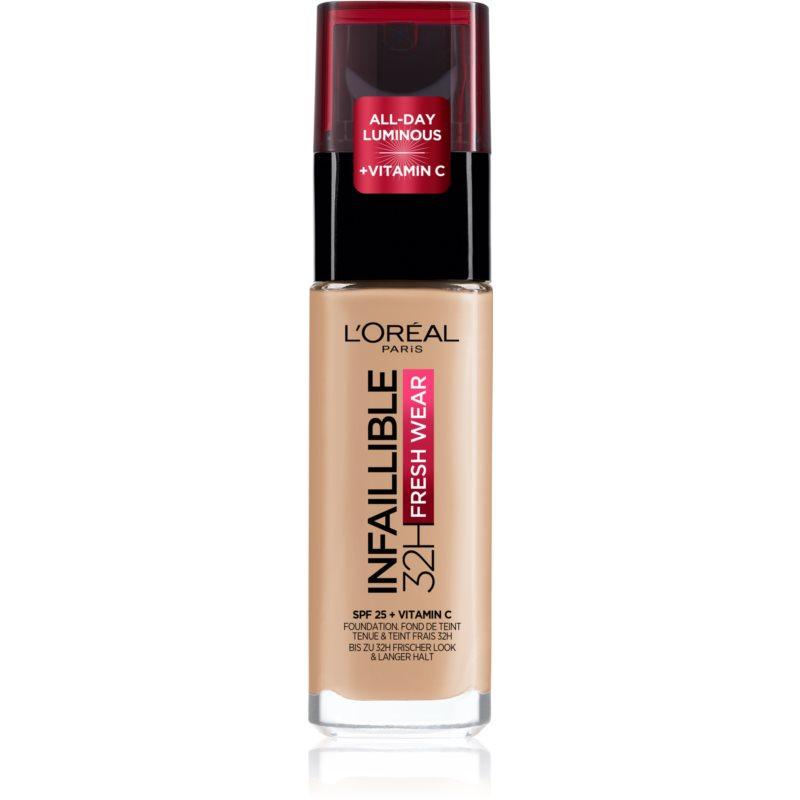 E-shop L'Oréal Paris Infallible dlouhotrvající tekutý make-up odstín 145 Rose Beige 30 ml