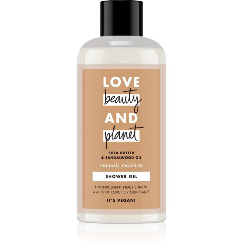 Love Beauty & Planet Majestic Moisture krémový sprchový gel 100 ml