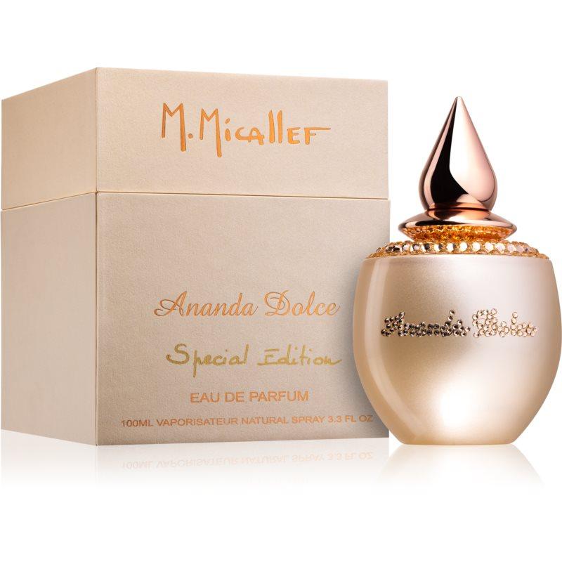 M. Micallef Ananda Dolce Special Edition Eau de Parfum hölgyeknek 100 ml