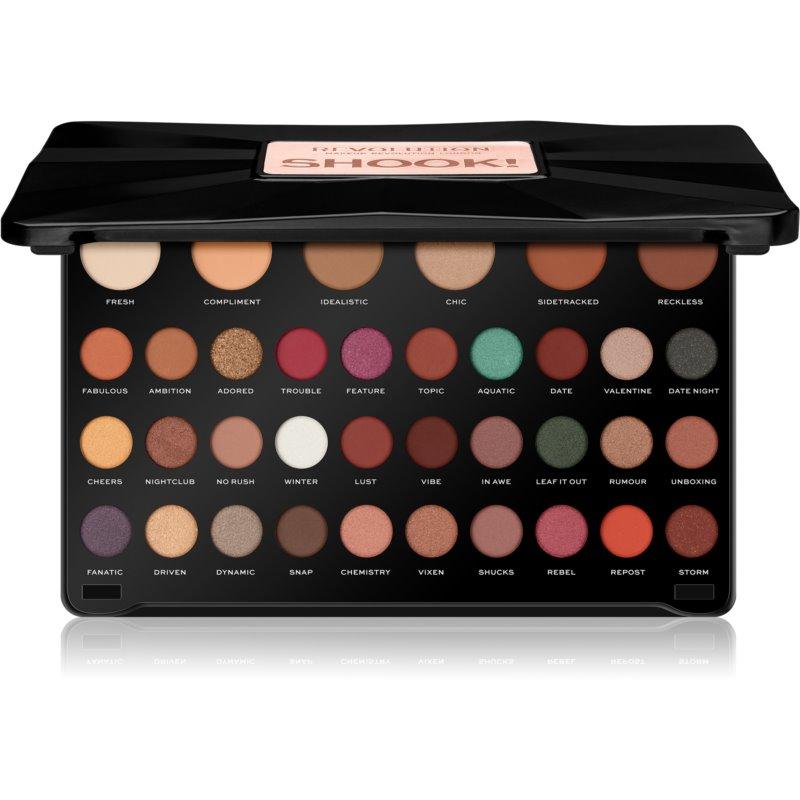 Makeup Revolution Shook! paletka očních stínů 6 x 1,4 g +