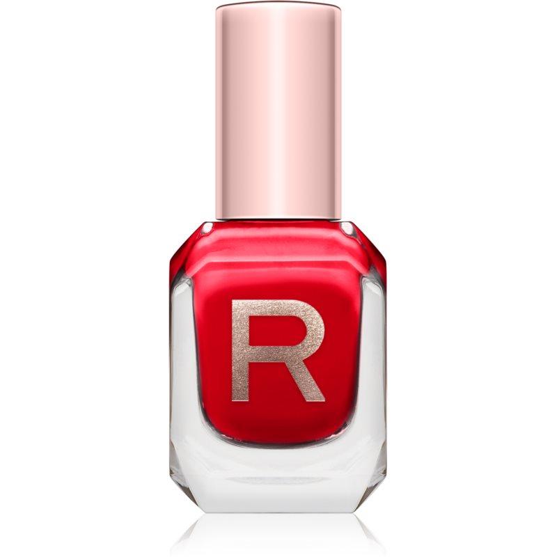 Makeup Revolution High Gloss esmalte de uñas de alta cobertura  con brillo intenso tono Passion 10 ml