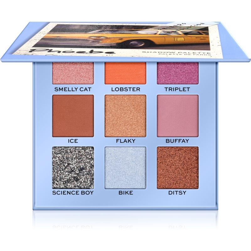 Makeup Revolution X Friends szemhéjfesték paletta árnyalat Phoebe 9 g