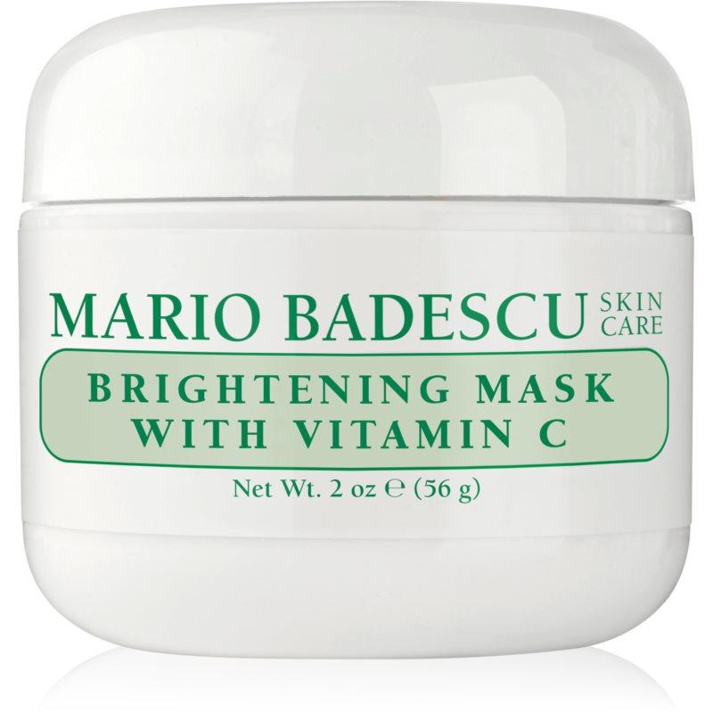 Mario Badescu Brightening Mask with Vitamin C masque éclaircissant pour les peaux ternes et non unifiées 56 g