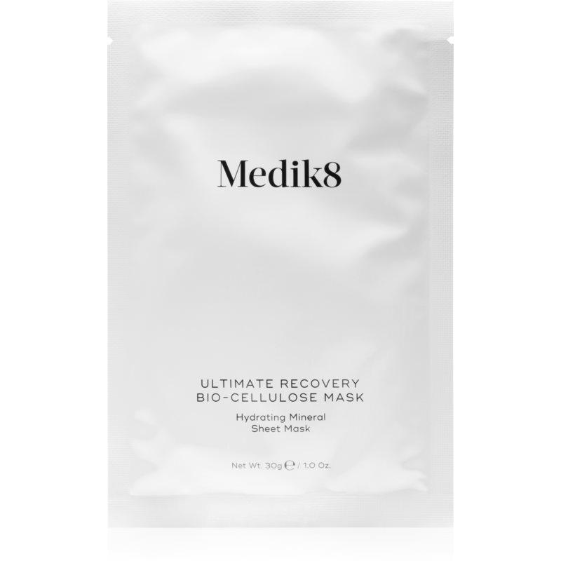 Medik8 Ultimate Recovery Bio-Cellulose Mask maschera in tessuto idratante e lenitiva 6 pz