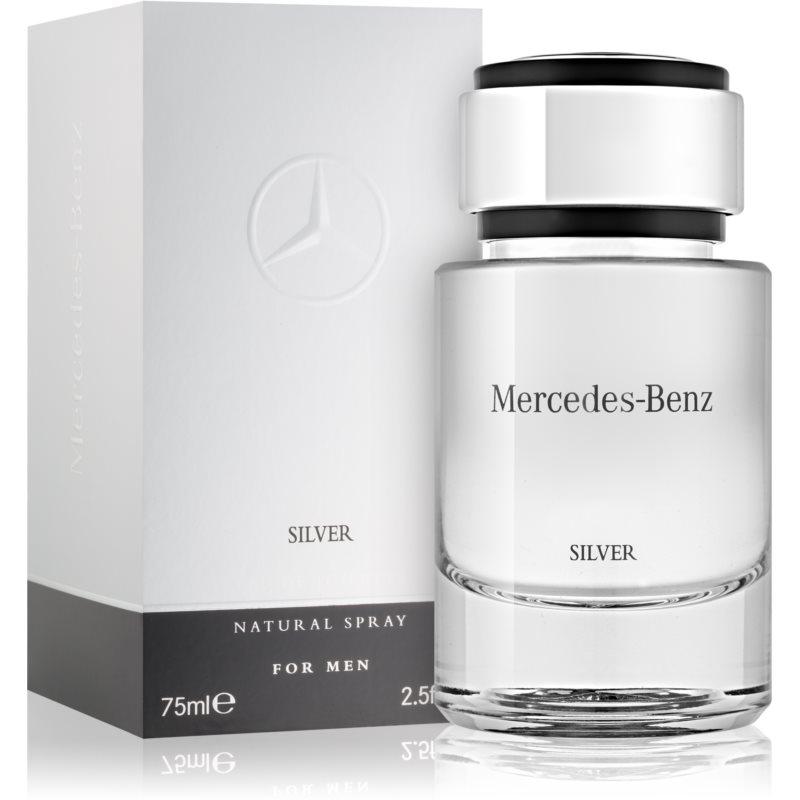 Mercedes-Benz For Men Silver Eau de Toilette uraknak 75 ml
