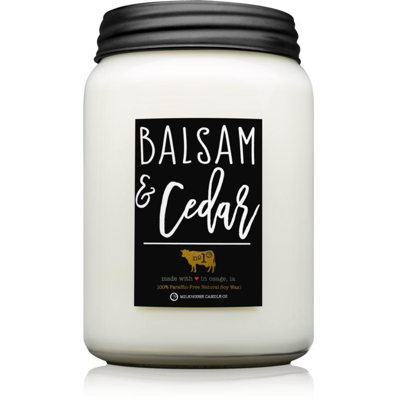 Milkhouse Candle Co. Farmhouse Balsam & Cedar bougie parfumée 737 g