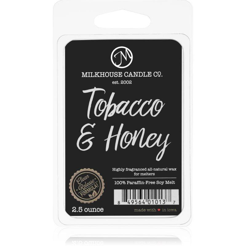Milkhouse Candle Co. Creamery Tobacco & Honey tartelette en cire 70 g