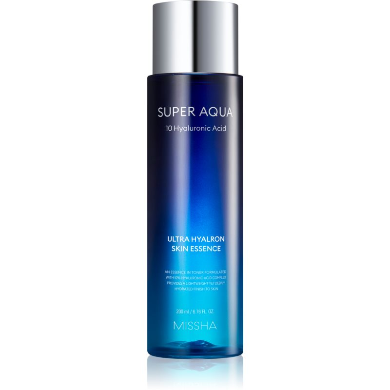 Missha Super Aqua 10 Hyaluronic Acid lotion tonique essentielle apaisante 200 ml