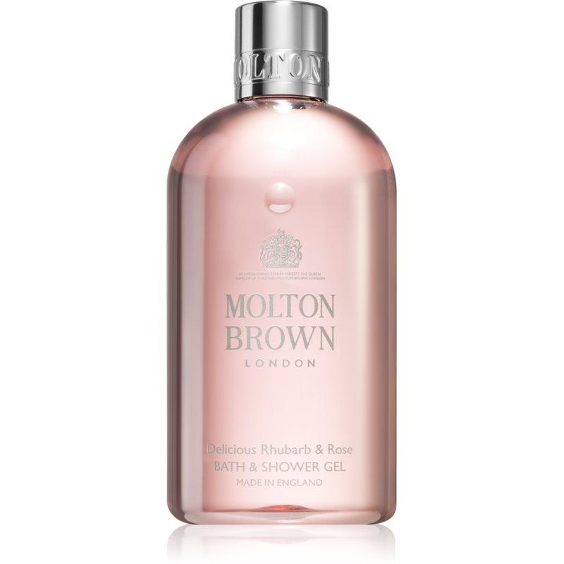 Molton Brown Rhubarb&Rose osvěžující sprchový gel 300 ml