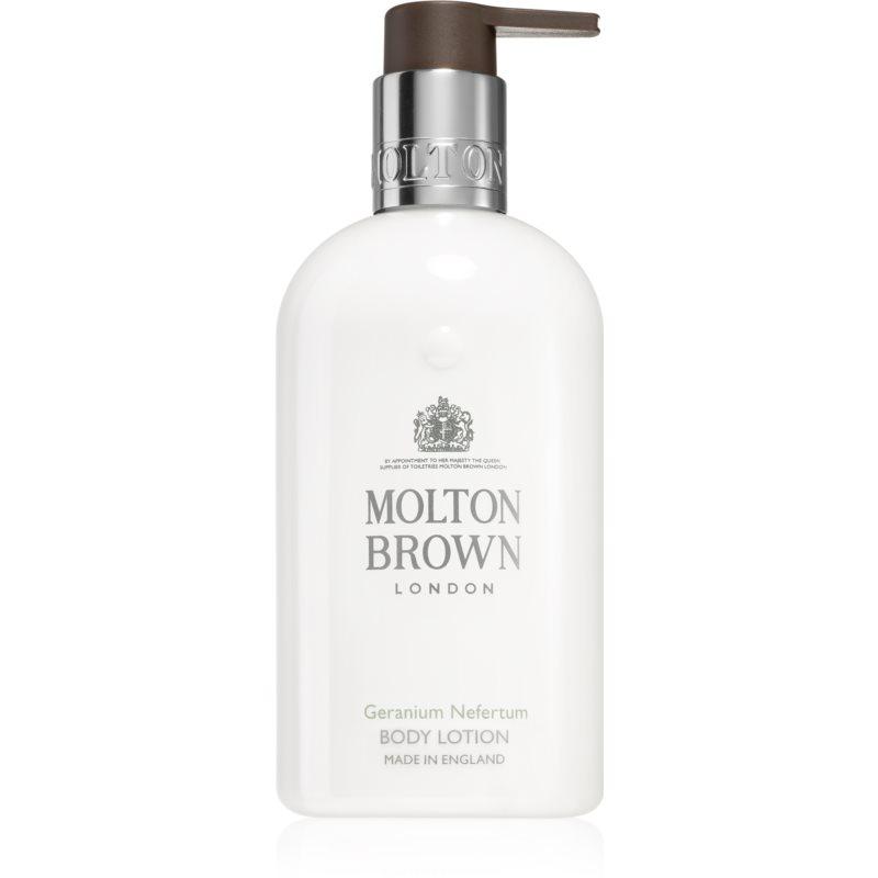 Molton Brown Geranium Nefertum hydratační tělové mléko 300 ml