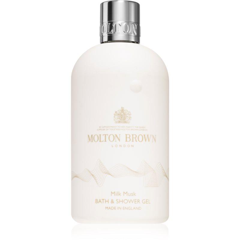 Molton Brown Milk Musk osvěžující sprchový gel 300 ml