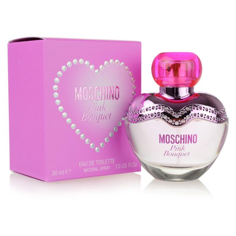 Moschino Pink Bouquet Eau de Toilette hölgyeknek 30 ml
