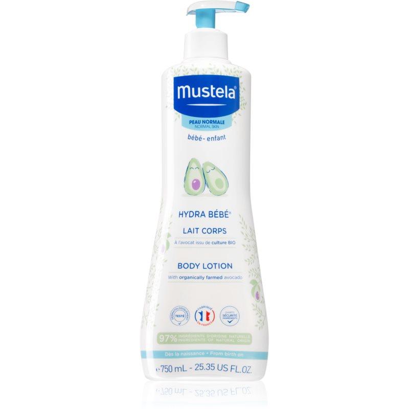 Mustela Bébé Hydra Bébé hydratační tělové mléko pro dětskou pokožku 750 ml