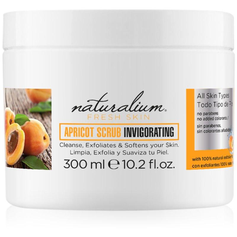 Naturalium Fresh Skin Apricot peeling corporel énergisant 300 ml