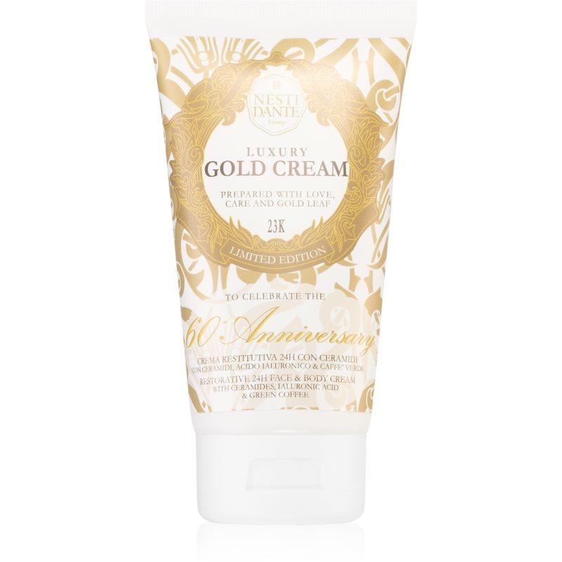 Nesti Dante Luxury Gold Cream crema idratante viso e corpo 150 ml
