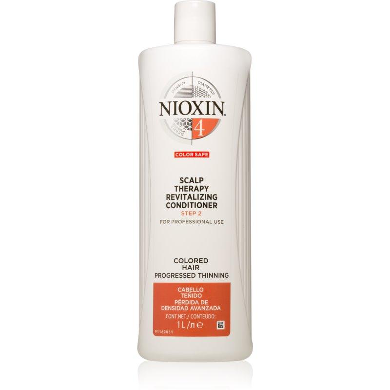 Nioxin System 4 Color Safe Scalp Therapy Revitalizing Conditioner après-shampoing nourrissant en profondeur pour cheveux colorés et abîmés 1000 ml