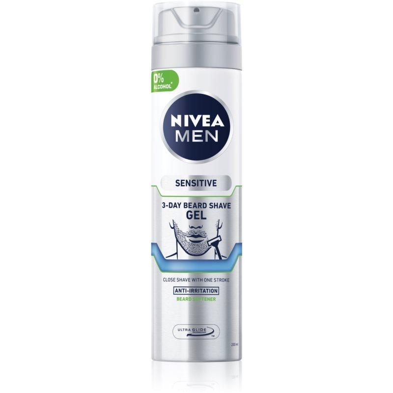 Nivea Men Sensitive gel de rasage effet apaisant 200 ml