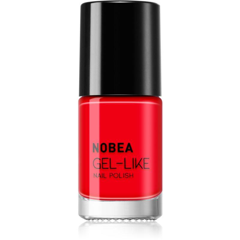 NOBEA Day-to-Day smalto per unghie effetto gel colore Ladybug Red #N08 6 ml