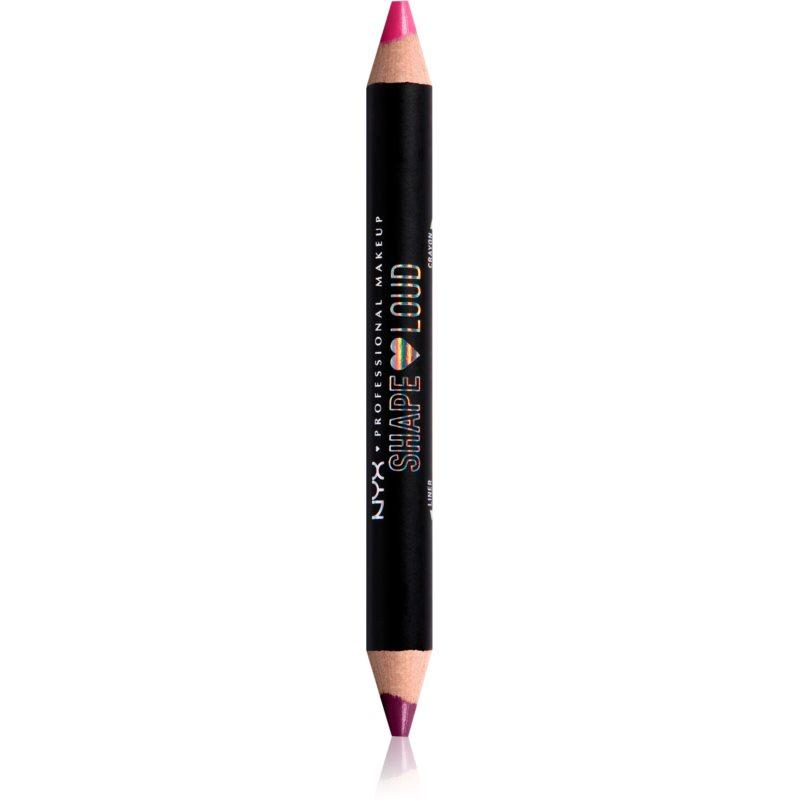 NYX Professional Makeup Lip Liner Duo Pride Line Loud rouge à lèvres + crayon lèvres effet mat teinte 04 - Its a Lewk