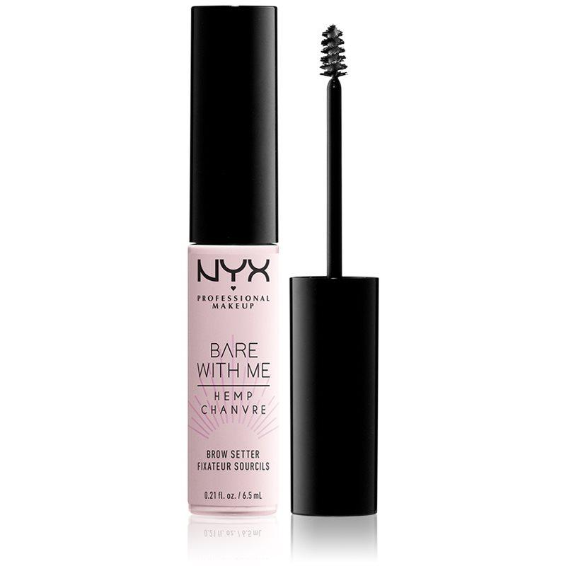 NYX Professional Makeup Bare With Me Hemp Brow Setter szemöldökzselé 6,5 ml