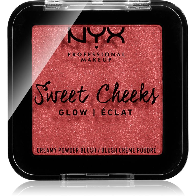 NYX Professional Makeup Sweet Cheeks Blush Glowy blush teinte CITRINE ROSE 5 g