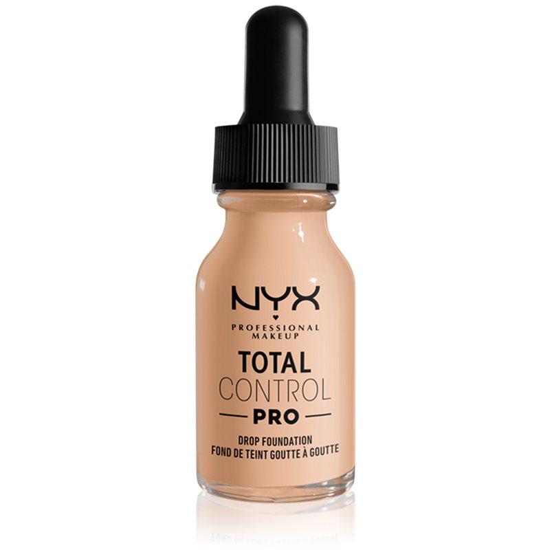 NYX Professional Makeup Total Control Pro Drop Foundation fond de teint teinte 6 - Vanilla 13 ml