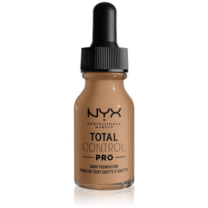 NYX Professional Makeup Total Control Pro Drop Foundation fondotinta colore 15 - Caramel 13 ml