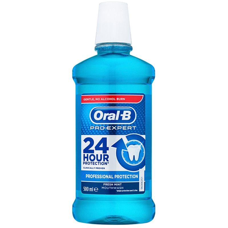 Oral B Pro-Expert Professional Protection bain de bouche saveur Fresh Mint 500 ml