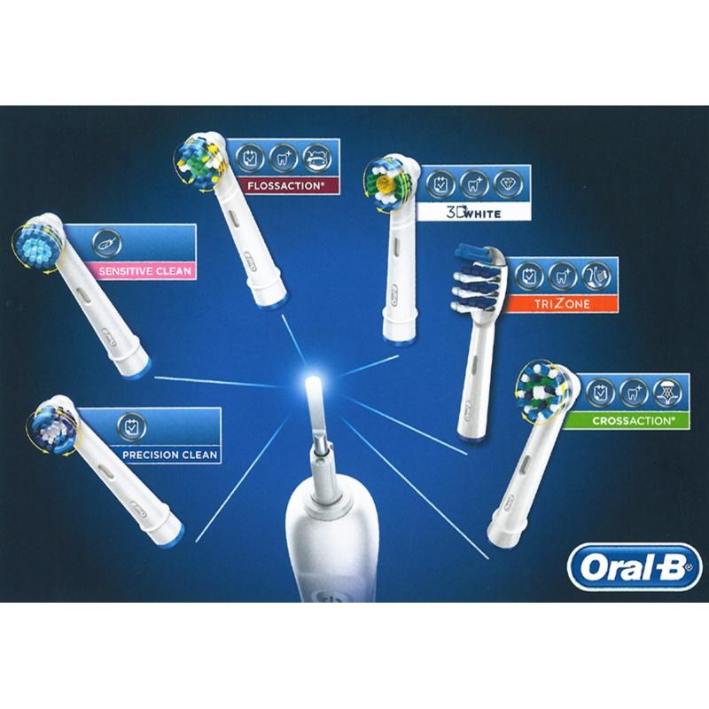 Oral B Cross Action EB 50 csere fejek a fogkeféhez 8 db