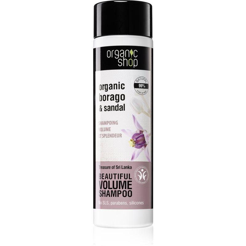 Organic Shop Organic Borago & Sandal shampoing volumisant 280 ml