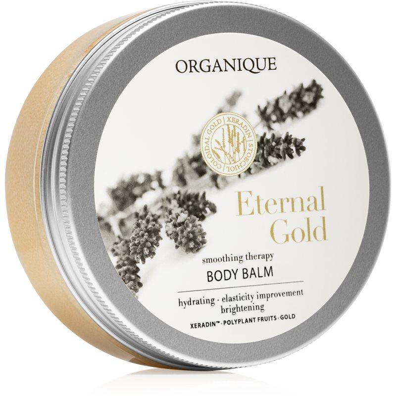 Organique Eternal Gold Smoothing Therapy rozjasňující a hydratační tělový balzám s 24karátovým zlatem 200 ml