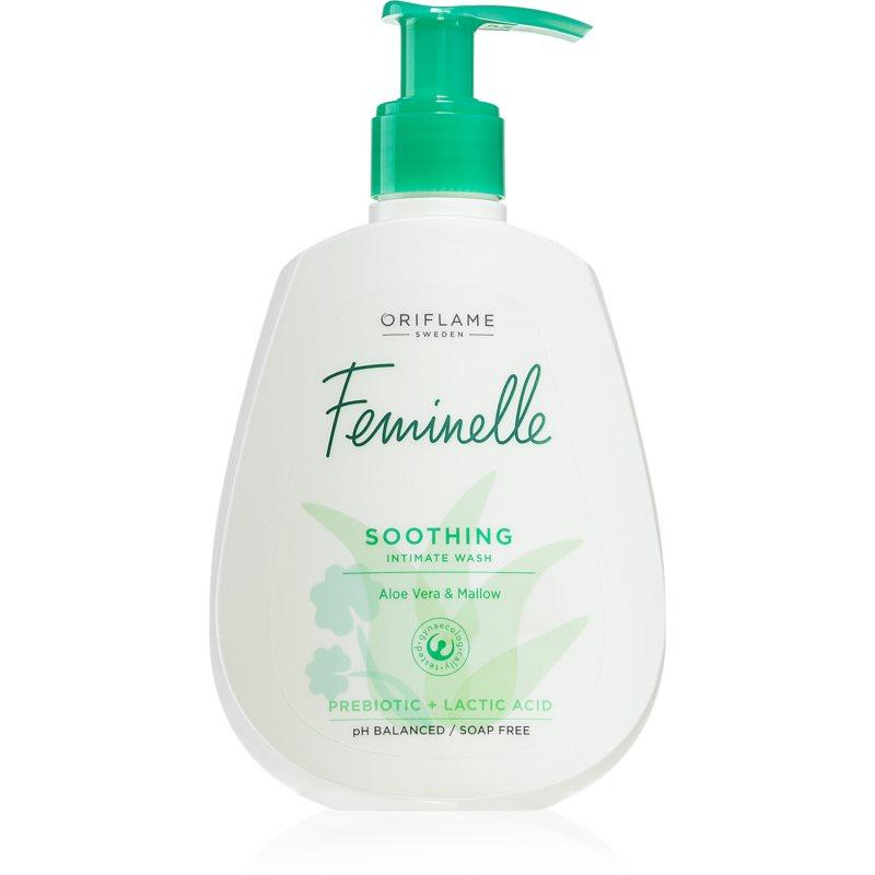 Oriflame Feminelle gel de toilette intime effet apaisant Aloe Vera & Mallow 300 ml