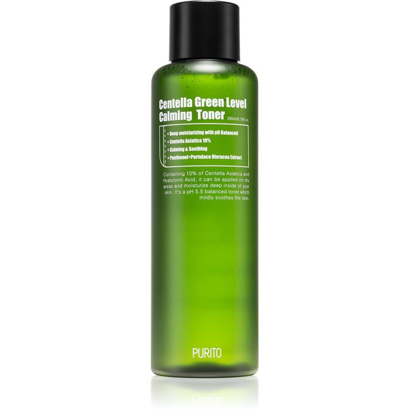 Purito Centella Green Level hydratačné tonikum pre upokojenie a posilnenie citlivej pleti 200 ml