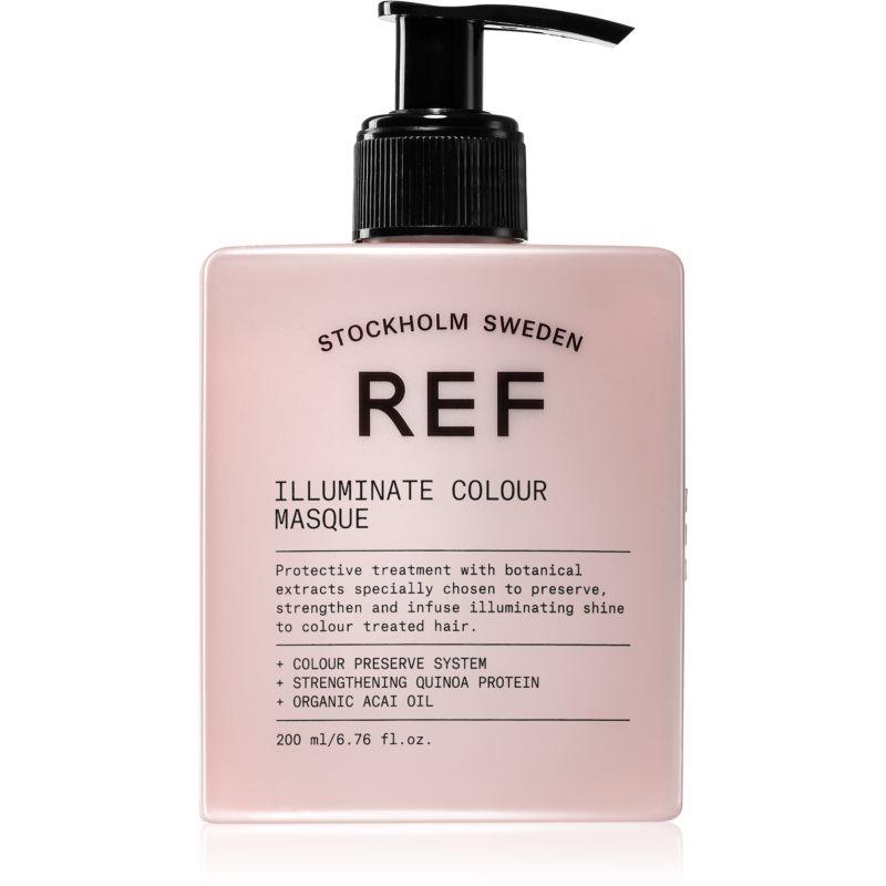 REF Illuminate Colour masque nourrissant cheveux pour une brillance éclatante 200 ml